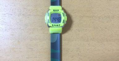 GAPのキッズ腕時計